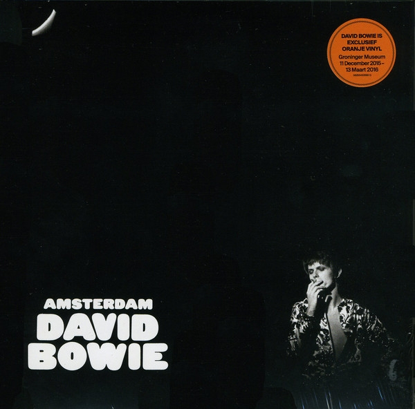 David Bowie Amsterdam cover art