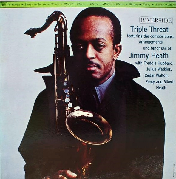 Jimmy Heath Triple Threat Cover Art