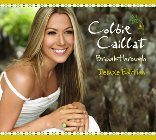 Colbie Caillat Breakthrough cover art
