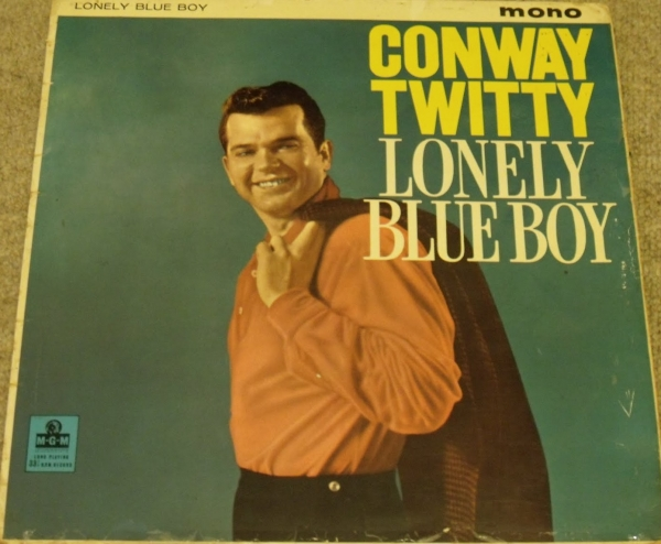 Conway Twitty Lonely Blue Boy Cover Art