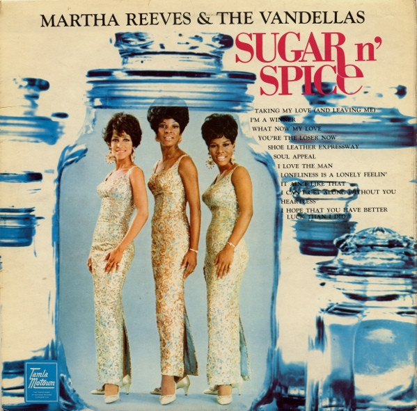Martha Reeves and The Vandellas Sugar n' Spice Cover Art