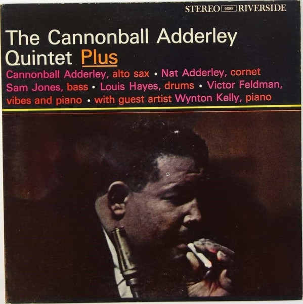 The Cannonball Adderley Quintet Plus cover art
