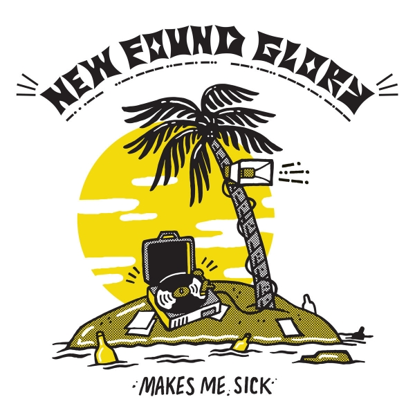 New Found Glory Makes Me Sick Cover Art