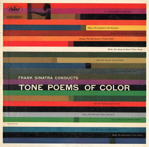 Frank Sinatra Frank Sinatra Conducts Tone Poems of Color Cover Art