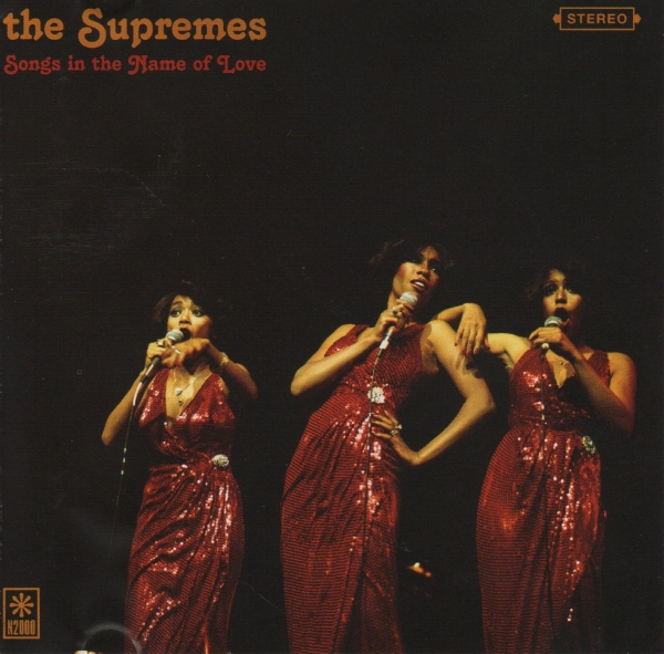 The Supremes Songs in the Name of Love cover art
