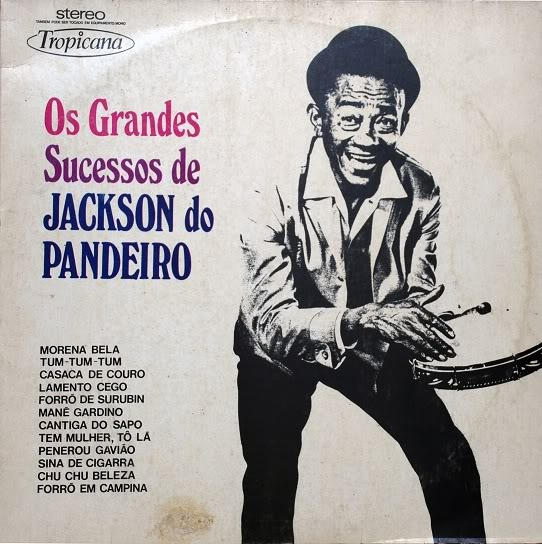 Jackson do Pandeiro Os Grandes Sucessos De Jackson Do Pandeiro Cover Art