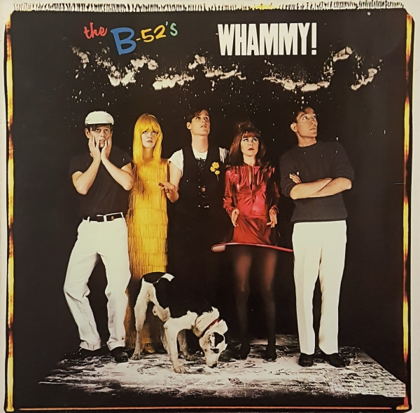 The B‐52s Whammy! cover art