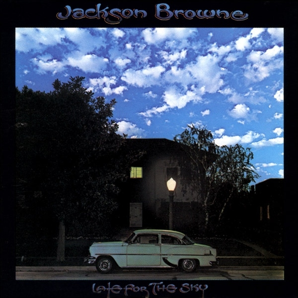 Jackson Browne Late for the Sky cover art