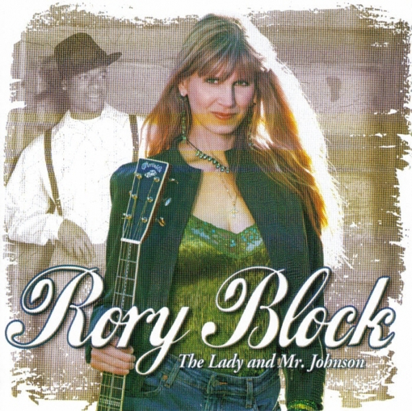 Rory Block The Lady and Mr. Johnson cover art