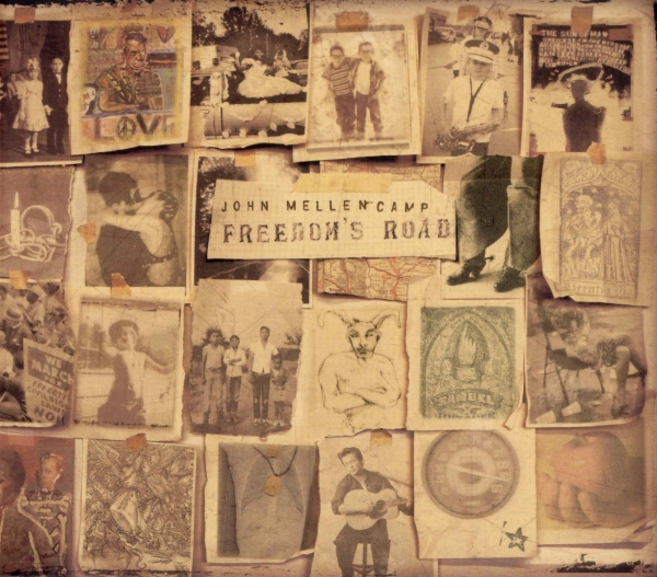 John Mellencamp Freedom's Road cover art