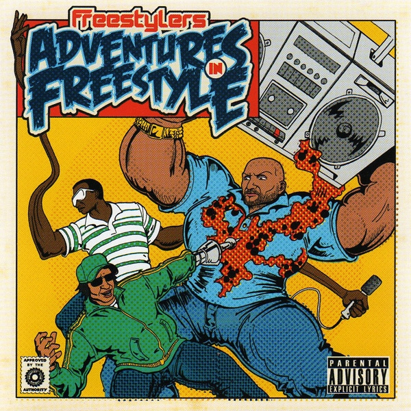 Freestylers Adventures in Freestyle cover art