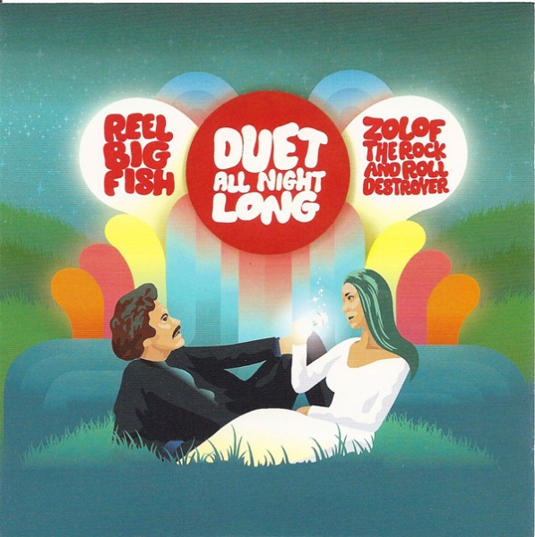 Reel Big Fish / Zolof the Rock & Roll Destroyer Duet All Night Long Cover Art
