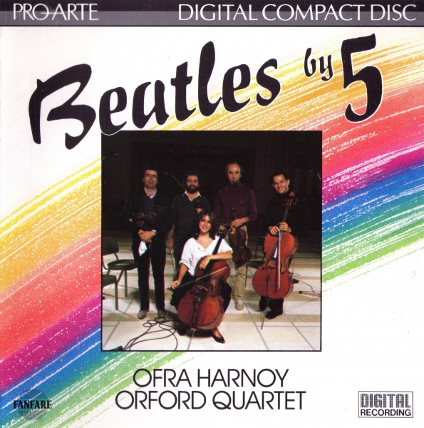 Orford String Quartet Beatles by 5 cover art