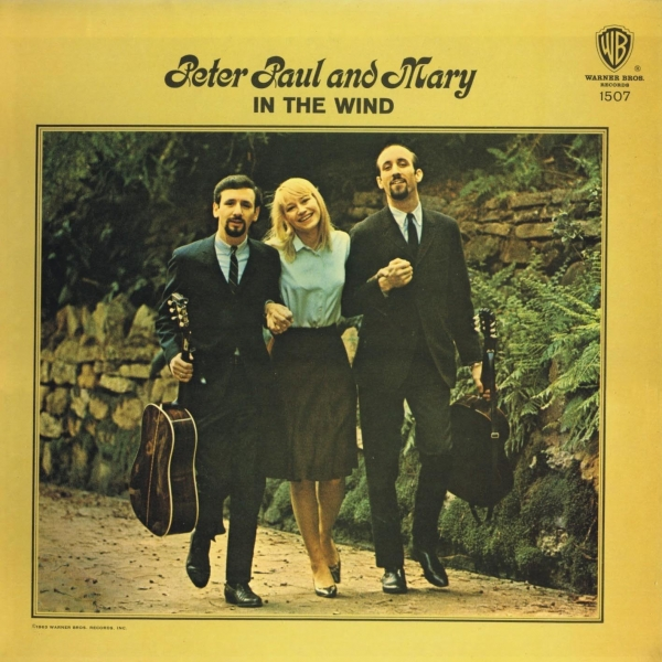 Peter, Paul & Mary In the Wind cover art