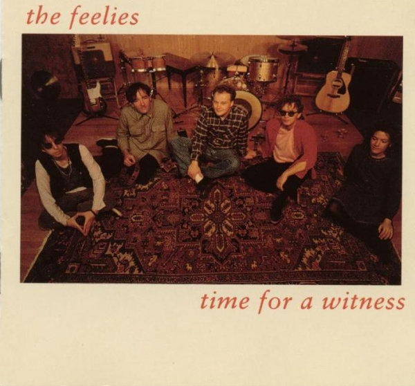 The Feelies Time for a Witness Cover Art