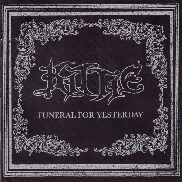Kittie Funeral for Yesterday cover art
