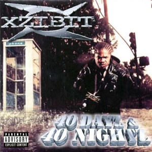 Xzibit 40 Dayz & 40 Nightz cover art