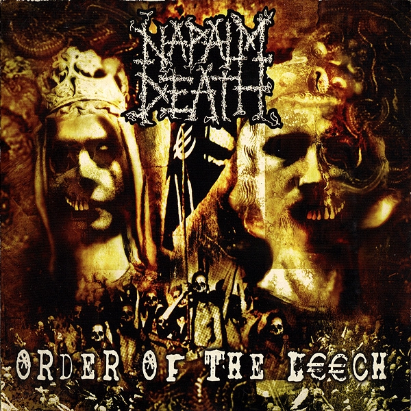 Napalm Death Order of the Leech cover art