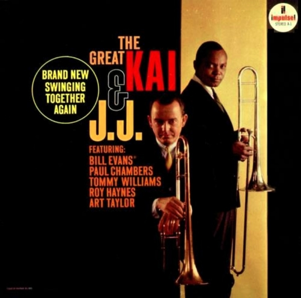 Kai Winding & J.J. Johnson The Great Kai & J.J. Cover Art