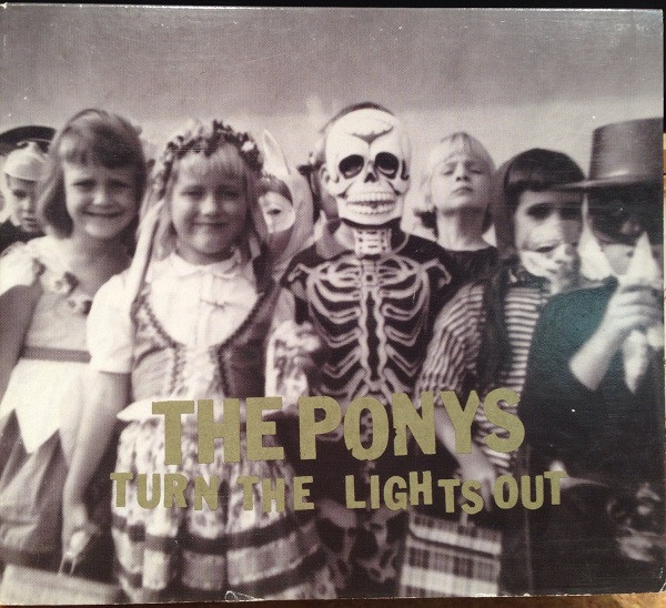 The Ponys Turn the Lights Out Cover Art