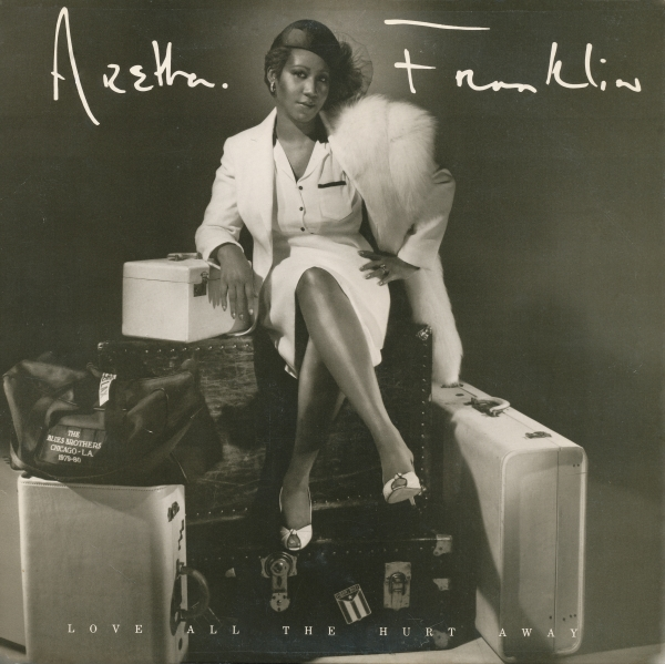 Aretha Franklin Love All the Hurt Away cover art