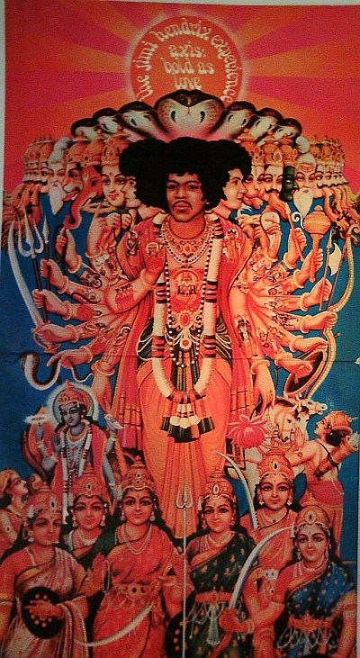 The Jimi Hendrix Experience Axis: Bold as Love Cover Art