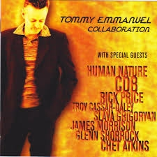 Tommy Emmanuel Collaboration Cover Art
