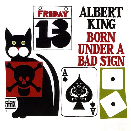 Albert King Born Under a Bad Sign cover art