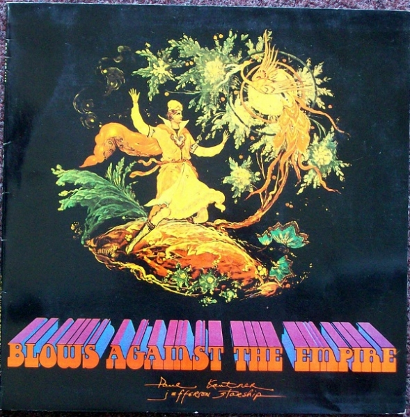 Paul Kantner Blows Against the Empire cover art