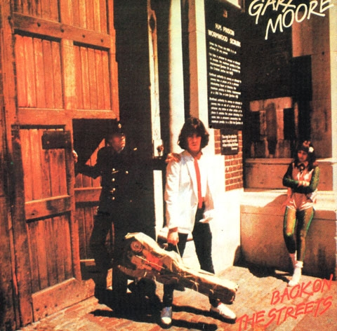 Gary Moore Back on the Streets cover art