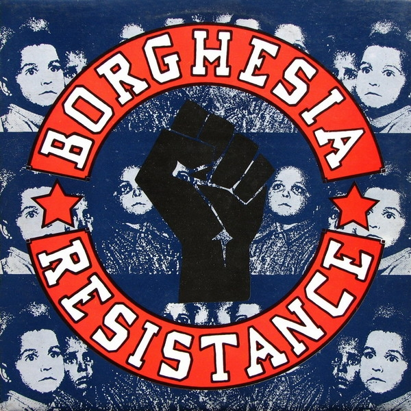 Borghesia Resistance Cover Art