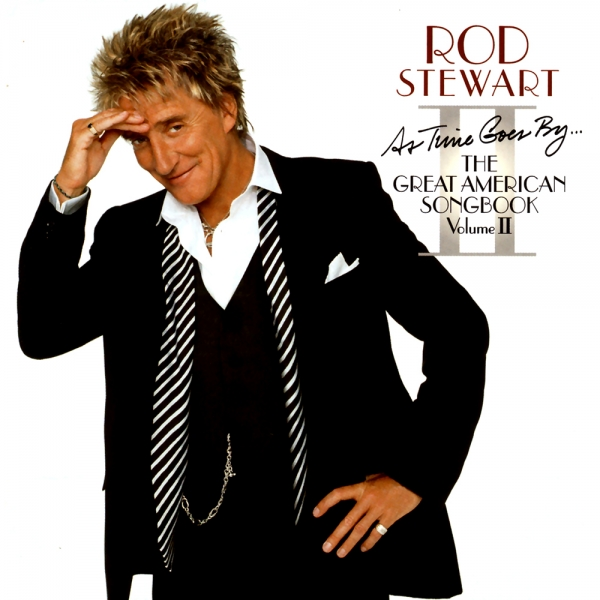 Rod Stewart As Time Goes By… The Great American Songbook, Volume Ⅱ cover art