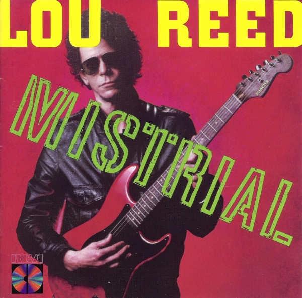 Lou Reed Mistrial cover art