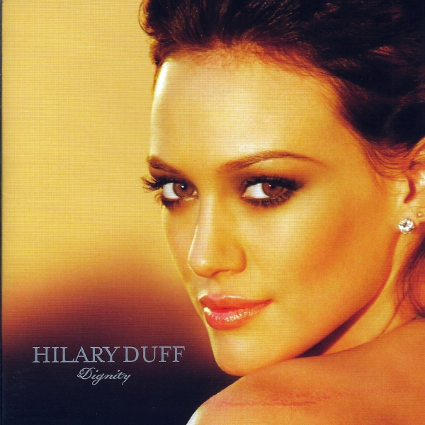 Hilary Duff Dignity cover art