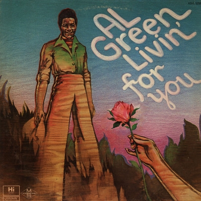 Al Green Livin' for You Cover Art