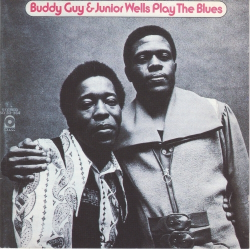 Junior Wells Play the Blues cover art