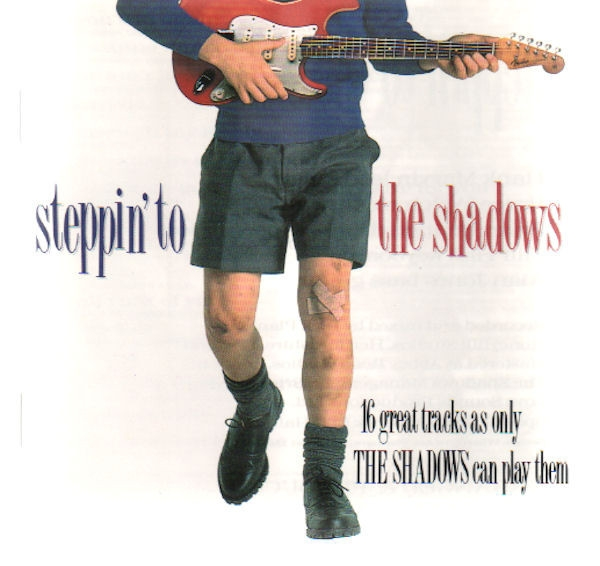The Shadows Steppin' to the Shadows cover art