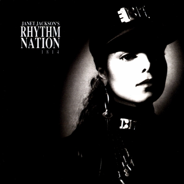 Janet Jackson Rhythm Nation 1814 cover art