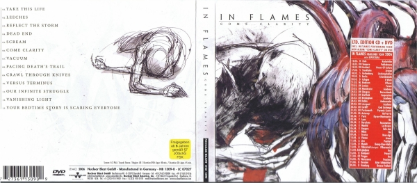 In Flames Come Clarity cover art