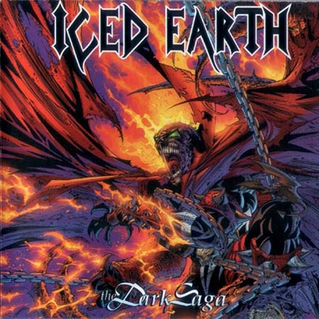Iced Earth The Dark Saga cover art