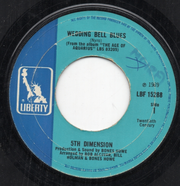The 5th Dimension Wedding Bell Blues cover art