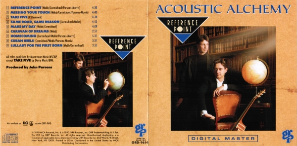 Acoustic Alchemy Reference Point Cover Art