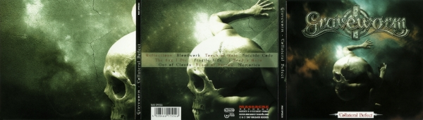 Graveworm Collateral Defect cover art