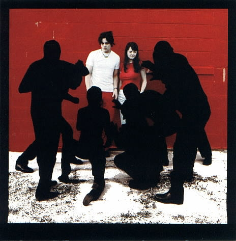 The White Stripes White Blood Cells cover art