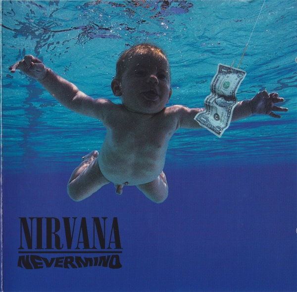 Nirvana Nevermind cover art