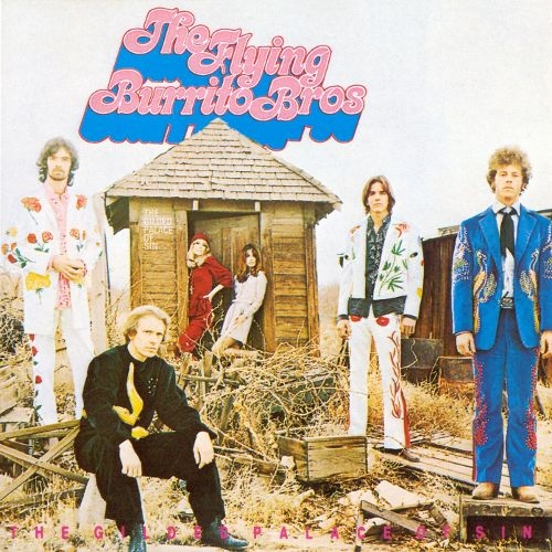 The Flying Burrito Brothers The Gilded Palace of Sin Cover Art