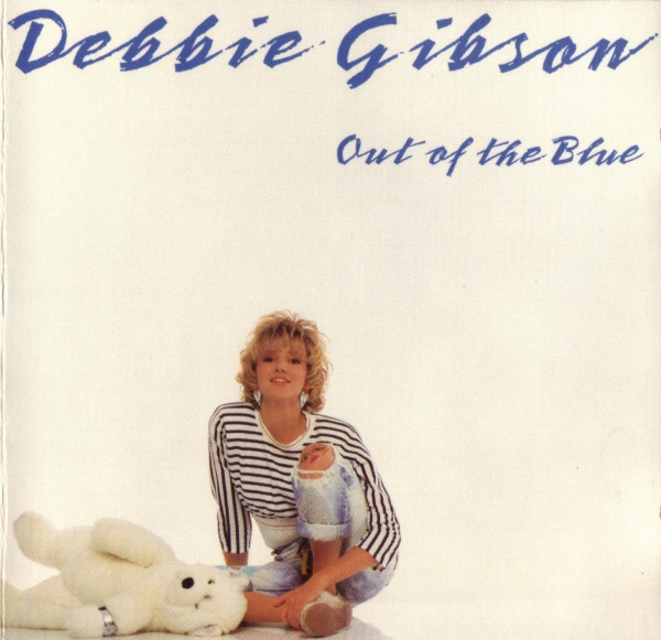 Debbie Gibson Out of the Blue cover art