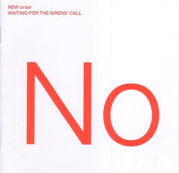 New Order Waiting for the Sirens' Call cover art