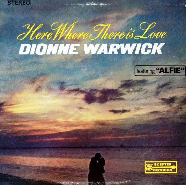Dionne Warwick Here Where There Is Love Cover Art