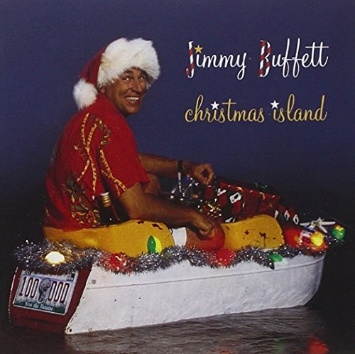 Jimmy Buffett Christmas Island cover art
